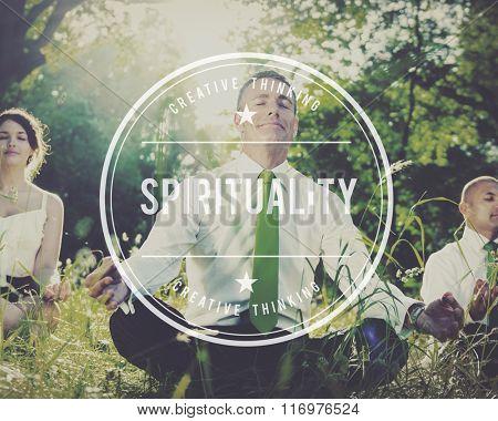 Spirituality Belief Faith Religion Worship Concept