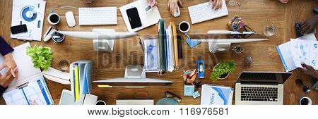 Business Teamwork Communication Brainstorming Concept