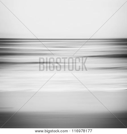 Abstract Monotone Seascape