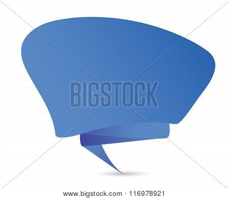 Comic Speech Bubble Icon Template