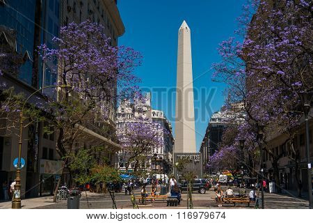 The Obelisk (el Obelisco)