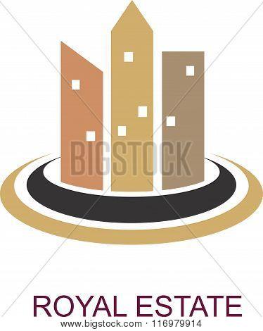stock logo real estate