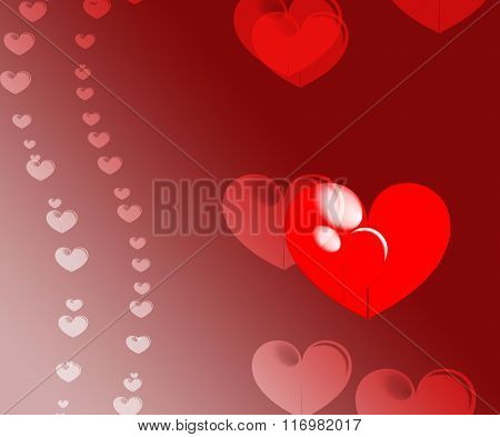 Valentine Heart Background 1