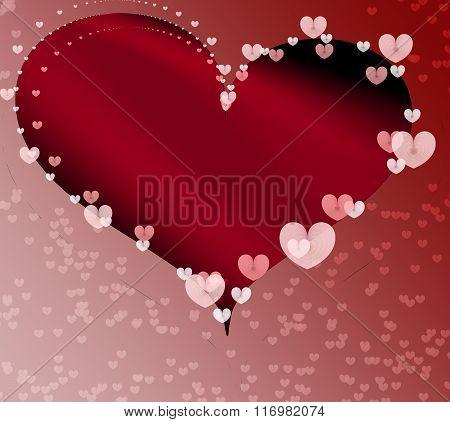Valentine Heart Background 2