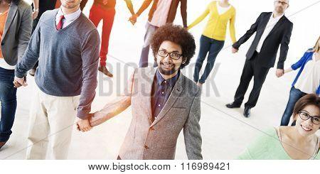Cooperation Collaboration Community Teamwork Concept
