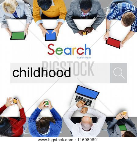 Childhod Elementary Age Young Concept