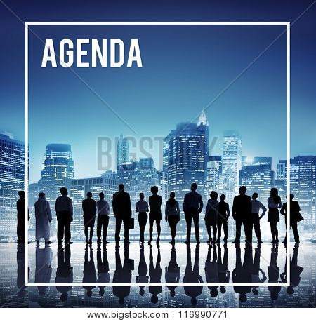 Agenda Appointment Calendar Schedule Meeting Concept