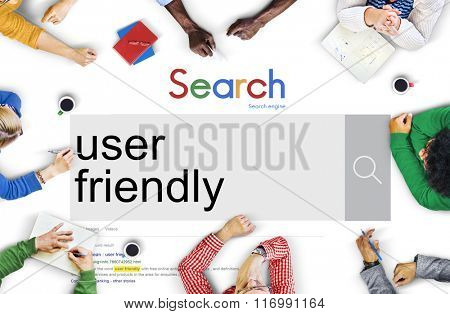 User Friendly Accessible Usable Easy Member Concept