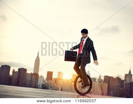 Balance Business Commuter Environmental Men Concept