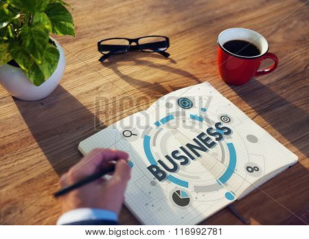 Business Company Organization Corporate Strategy Concept