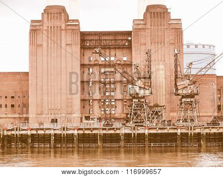 Battersea Powerstation London Vintage