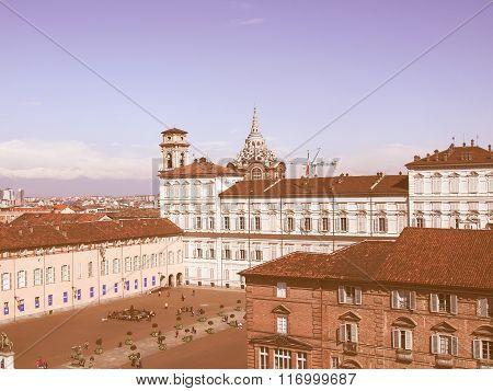 Piazza Castello, Turin Vintage