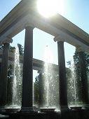 Sun And Fountain