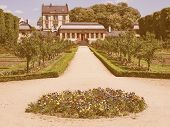 Постер, плакат: Prince Georg Garden In Darmstadt Vintage