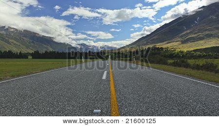 New Zealand Landscape Highway