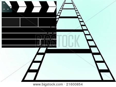 Film and slapstick film