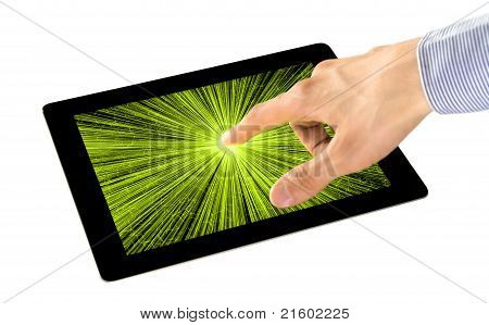 Percepción sensorial en Tablet PC