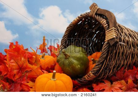 Autumn Harvest Scene