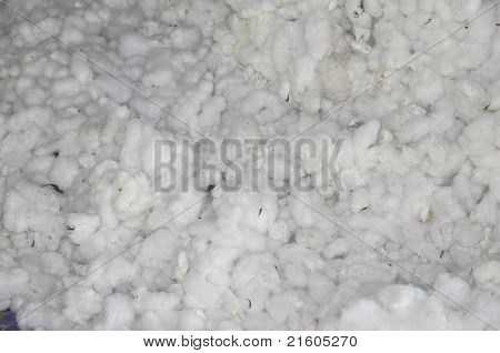 Cotton Process Material Pile Background