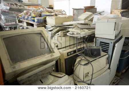 Resíduos de computador