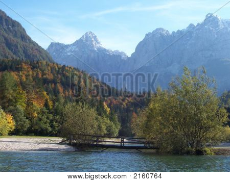 Slovenia Lake Plasna