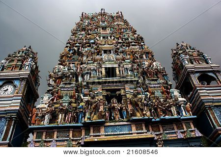 A Tamil Temple in Colombo