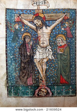 Crucifixion, Jesus dies on the cross