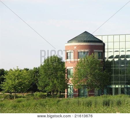 Prarie View Center in summer at Hoffman Estates