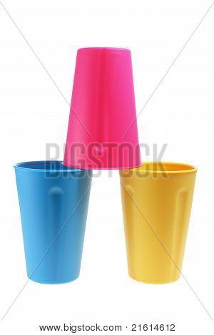 Copos plásticos