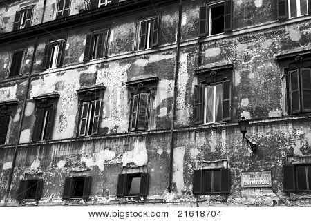 Rome Architecture. Trastevere.