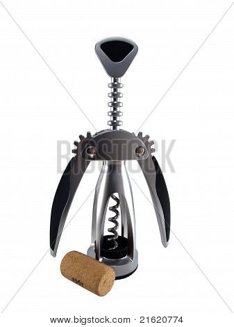 Corkscrew stopper