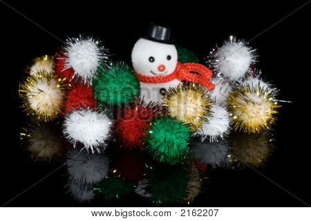 Snowman With Tensile Balls