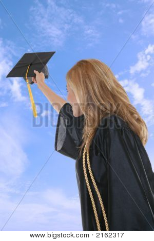 Woman Graduation