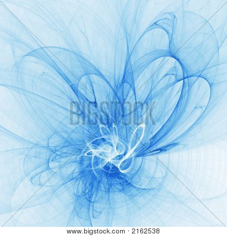 Blue Flame Flower