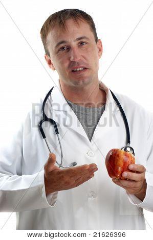 Medical Staff Explains The Benefits Of Fruit