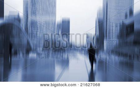 Stressed Businessman Paris