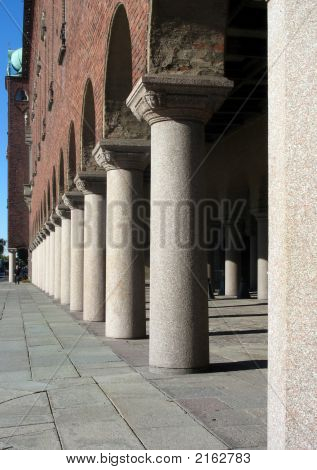 Pillars In A Castle 2