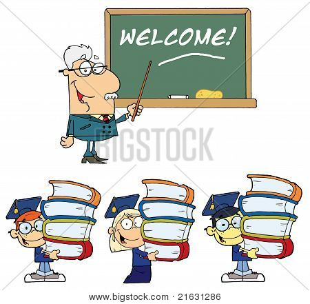 Welcome To School 2- Collection