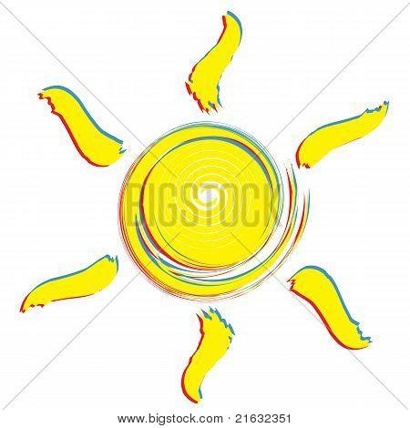 Sun drawing