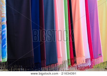 Multicolored Scarfs