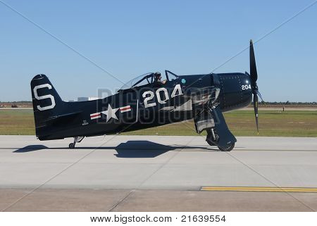 World War Ii Era Fighter Plane