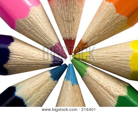 Pencil Colour Wheel