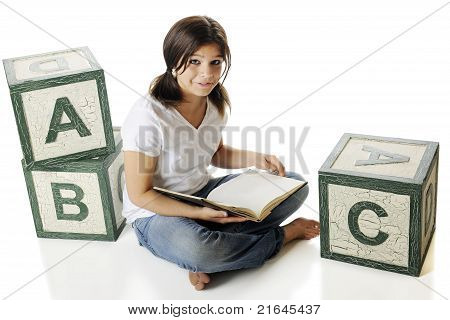 Reading Among The Alphabet