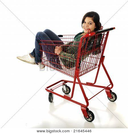 Riding The Cart