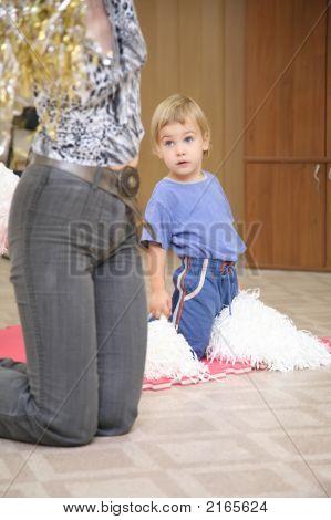 Mädchen Übungen