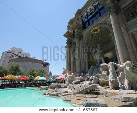 A View Of The Caesars Palace Forum Shops