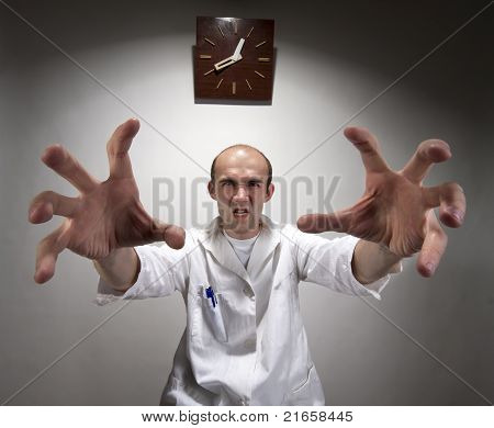 Ominous Angry Doctor