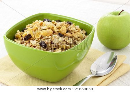 Healthy Muesli Breakfast
