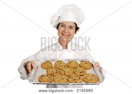 Chef & Chocolate Chip Cookies