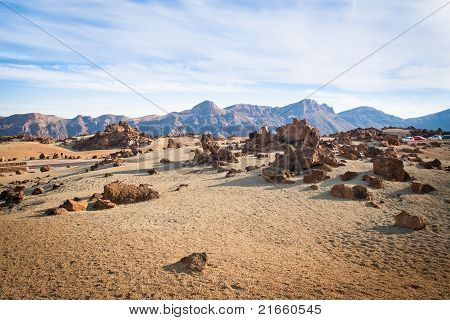 Rocks In Tenerife
